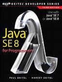 Java SE8 for Programmers ebook