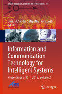 Pdf Information and Communication Technology for Intelligent Systems Telecharger