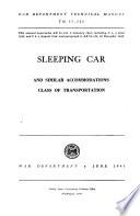 Sleeping Car and Similar Accommodations