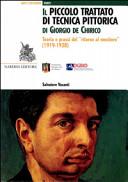 Il Piccolo trattato di tecnica pittorica di Giorgio de Chirico. Teoria e prassi del «ritorno al mestiere» (1919-1928)