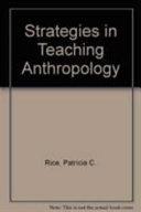 Strategies in Teaching Anthropology