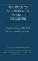 Role of Serotonin in Psychiatric Disorders