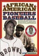 African American Pioneers of Baseball