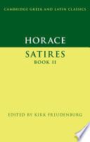 Horace: Satires Book II