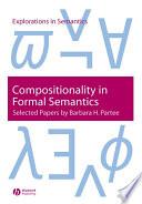Compositionality in Formal Semantics