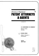 Directory of Registered Patent Attorneys   Agents as of December 1968