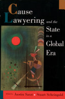 Cause Lawyering and the State in a Global Era