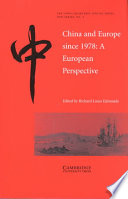 China And Europe Since 1978 Book PDF