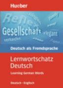 Learning German words
