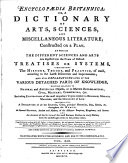 Encyclopaedia Britannica  Or  a Dictionary of Arts  Sciences  and Miscellaneous Literature