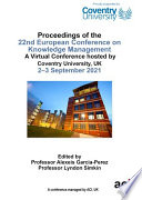 ECKM 2021 22nd European Conference on Knowledge Management