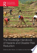 Handbook Of Hazards And Disaster Risk Reduction And Management Book PDF