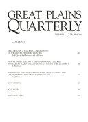 Great Plains Quarterly