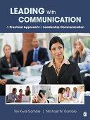 Leading With Communication Pdf/ePub eBook