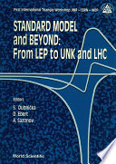 Standard Model And Beyond From Lep To Unk And Lhc Proceedings Of The First International Triangle Workshop Jinr Cern Ihep