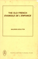 The Old French Evangile de l'enfance