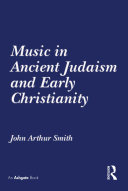 Pdf Music in Ancient Judaism and Early Christianity Telecharger