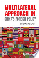 Multilateral Approach In China S Foreign Policy