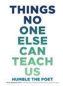Things No One Else Can Teach Us [Pdf/ePub] eBook