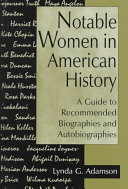 Notable Women in American History