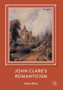 John Clare's Romanticism Pdf/ePub eBook