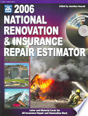 2006 National Renovation & Insurance Repair Estimator