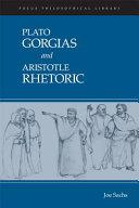 Plato   Gorgias   And  Aristotle   Rhetoric