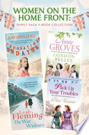 Women on the Home Front  Family Saga 4 Book Collection