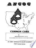ANCOC Common Core Book