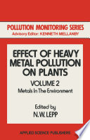 Effect Of Heavy Metal Pollution On Plants Book PDF