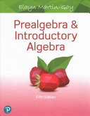 Prealgebra and Introductory Algebra (Hardcover)