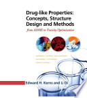Drug like Properties  Concepts  Structure Design and Methods Book