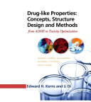 Pdf Drug-like Properties: Concepts, Structure Design and Methods Telecharger