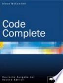 Code Complete - Deutsche Ausgabe