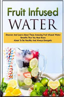 Fruit Infused Waters Book