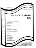 Gas solid Flows  1993 Book