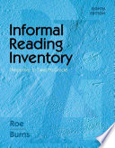 Informal Reading Inventory Preprimer To Twelfth Grade Book