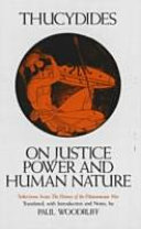 On Justice  Power   Human Nature