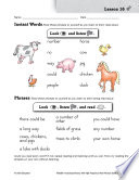 High Frequency Word Phrases Level 1  Sound and Sense