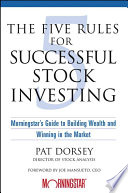 The Five Rules for Successful Stock Investing Book