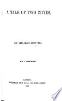 A Tale of Two Cities     With a frontispiece
