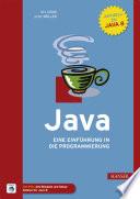 Java  : Eine Einführung in die Programmierung