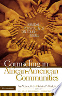 Counseling In African American Communities