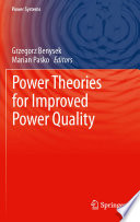 Power Theories For Improved Power Quality Book PDF