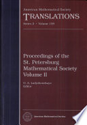 Translations  Ser  2  159  Proceedings of the St  Petersburg Mathematical Society    2