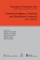 Pdf Commercial Agency, Franchise and Distribution Contracts Telecharger