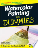 """""""Watercolor Painting For Dummies"""" by Colette Pitcher"""