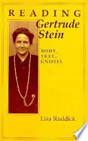 Reading Gertrude Stein