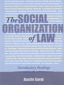Social Organization Of Law