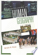 Encyclopedia of Human Geography Book